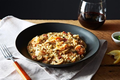 Shrimp and Grits StyleRisotto