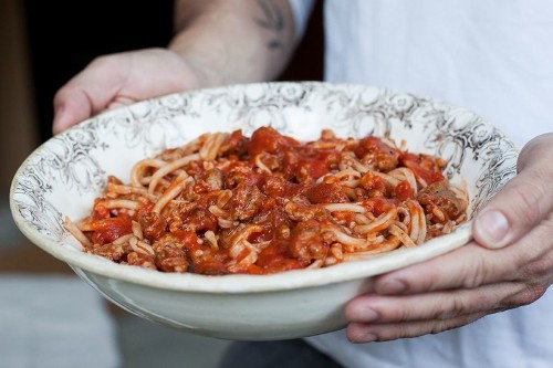 The Meaty, Leftovers-Filled Pasta Savored By TuscanCowboys