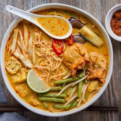 Curry Laksa Ramen Recipe on Food52
