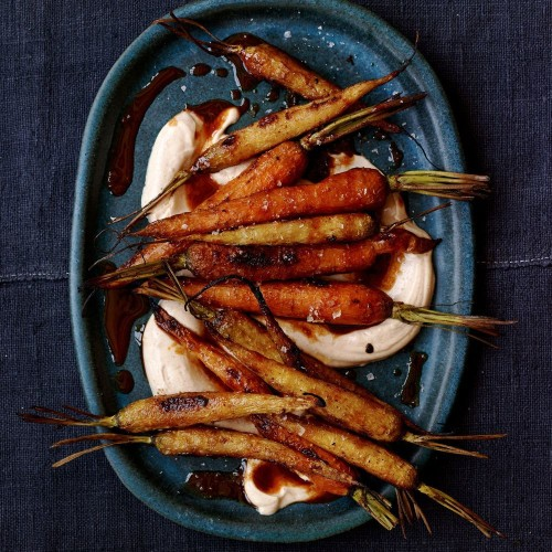 Sweet and Smoky Roasted Carrots