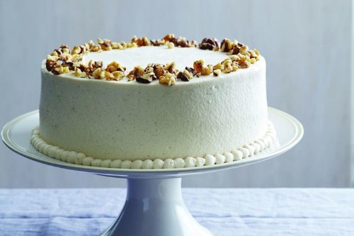 Carrot-Pineapple Cake with Cream CheeseFrosting