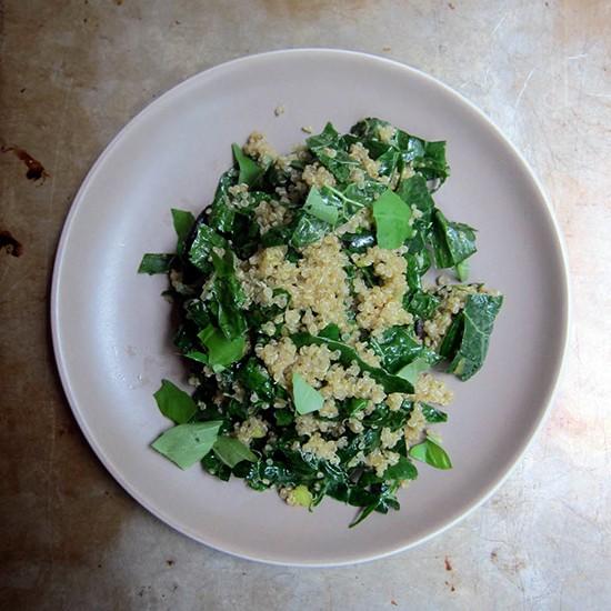 Quinoa and Kale, Meet the Portobello