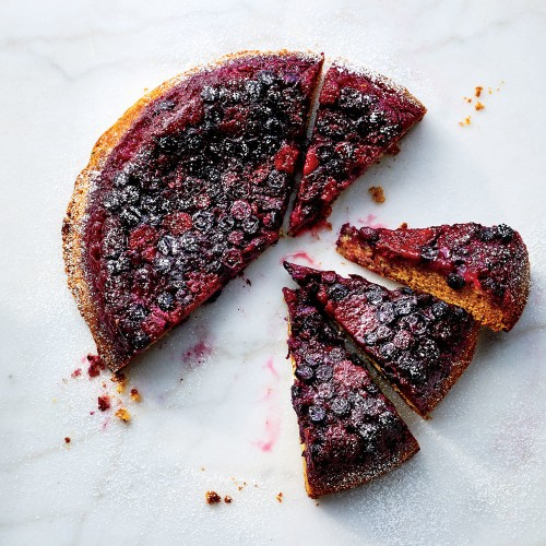 Make Gail Simmons' bumbleberry buttermilk upside-down cake