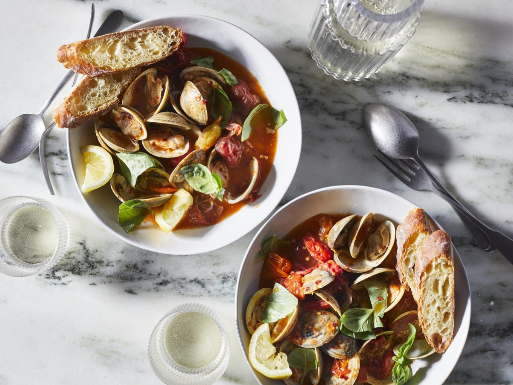 Clams, Scallops & Mussels - Cover