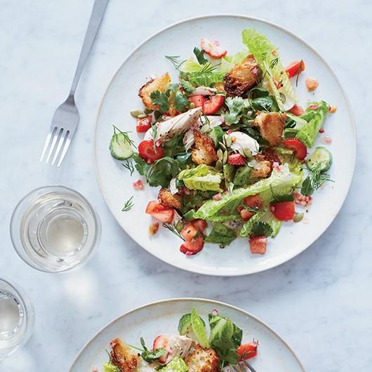 Salad Recipes - Magazine cover