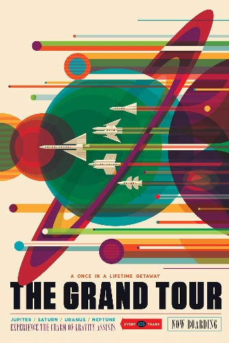 NASA's Gorgeous Retro-Future Posters Celebrate Space Travel
