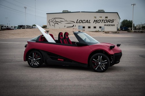 The 3D Printed Car That Could Transform The Auto Industry: On Sale In 2016