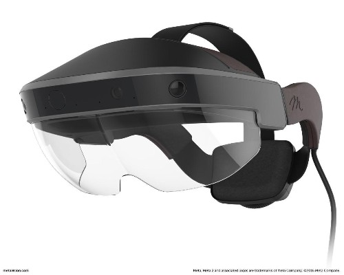 Startup Meta Unveils $949 Augmented Reality Headset To Rival HoloLens