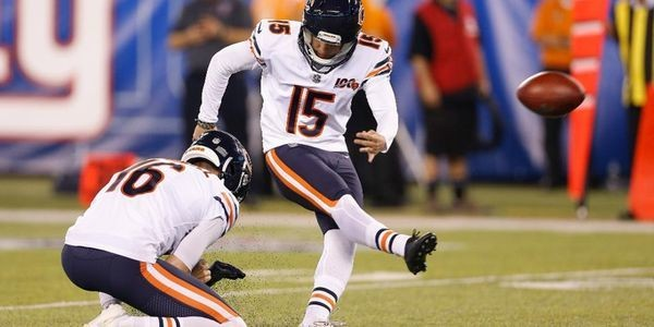 Eddy Pineiro Is Only Kicker On Bears' Roster But Must Keep Proving Himself