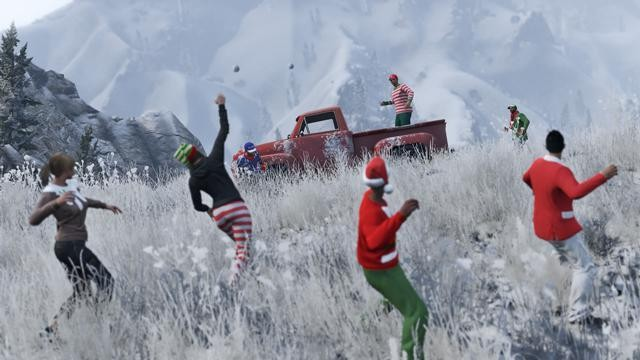 Rockstar Extends GTA 5 Festive Surprise Due To PSN And XBL Outage