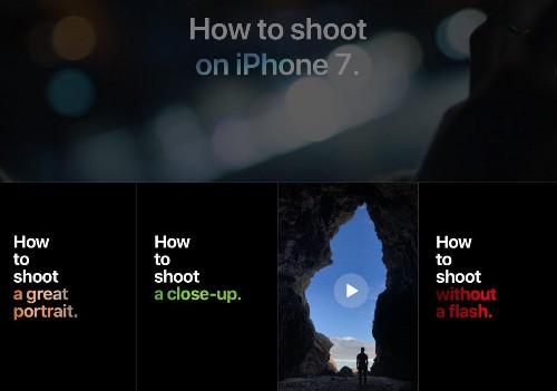 Apple Suddenly Launches 16 New Video Guides For Better iPhone Photos