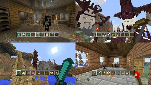 'Minecraft' Perfected For Families On PlayStation 4 And Xbox One
