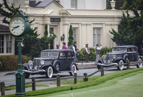 A Look at Pebble Beach Concours d'Elegance, Monterey Classic Car Week 2015 and Rolex