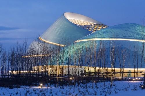 See New Photos of MAD Architects' Harbin Opera House