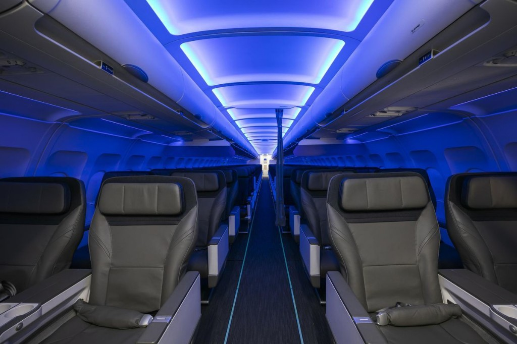 Alaska Airlines Launches New Cabin Interiors On Old Virgin America Aircraft