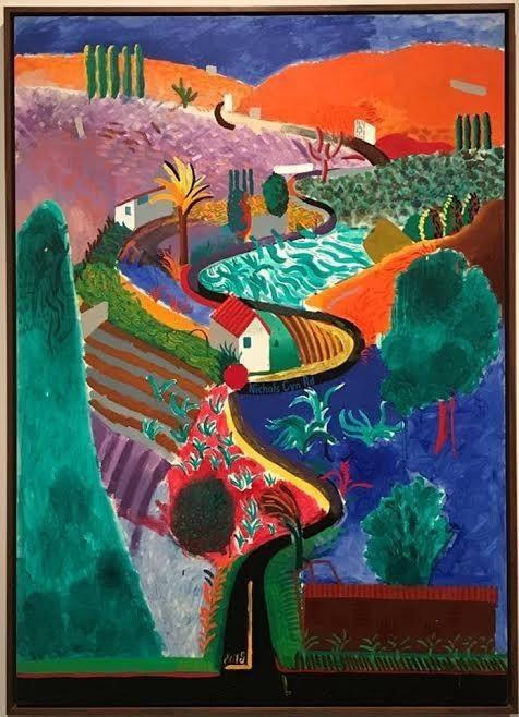 Rapturous Hockney Landscape Expected To Fetch $35 Million Amid Elite Demand For Rare Masterpiece