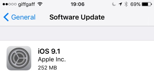 Apple iOS 9.1 Release Admits To Serious Problems