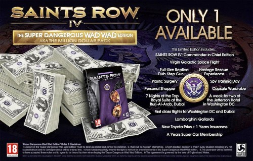 Counting The Cost Of The Million-Dollar Limited Edition Of 'Saints Row IV'