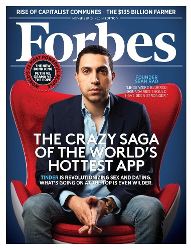 Sean Rad Out As Tinder CEO. Inside The Crazy Saga
