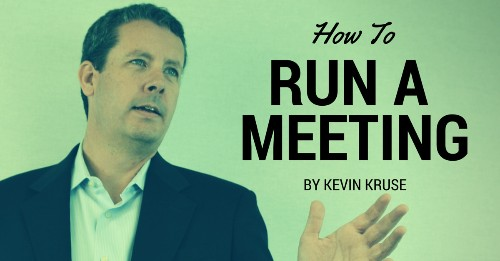 How To Run A Meeting That Matters