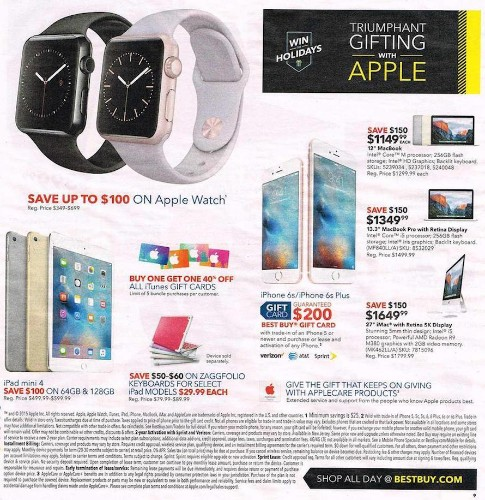 Apple 'Black Friday': Watch, iPad and iPhone Best Deals