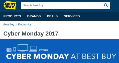 Best Buy 'Cyber Monday' 2017 Deals Preview: Early Smartphone, Tablet, HDTV Sales
