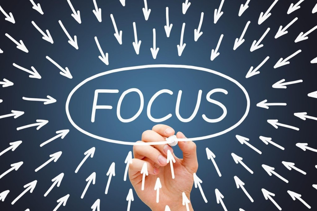 Having Laser-Focus Increases Your Odds Of Success