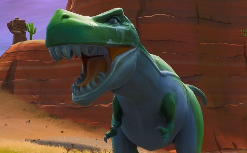 'Fortnite' Challenge Guide: Where To Dance Between Three Dinosaurs