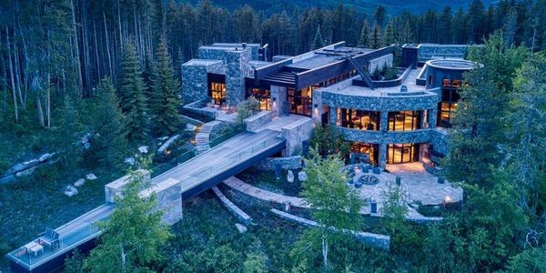 439-Acre Contemporary Mountain Retreat In Colorado Hits The Market For $78 Million