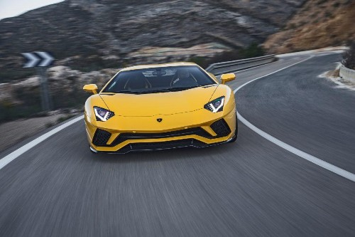 Lamborghini Used Jet Fighters, Spaceships, And Snakes To Design Its Latest Supercar, The Aventador S