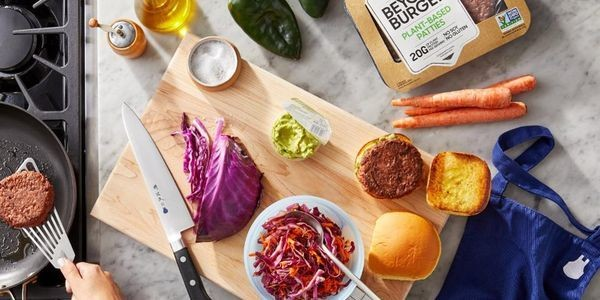 Blue Apron Partners With Beyond Meat To Offer A Plant-Based Burger To Customers