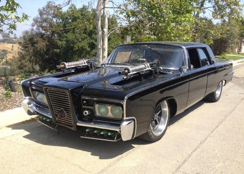 Roll Like A Superhero With The Black Beauty From Seth Rogan's 'Green Hornet' Movie