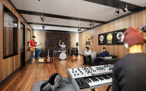 Multifamily Developers Crank Up Volume On Music Amenities
