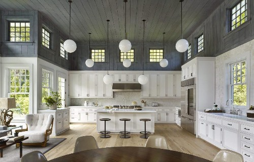 15 Stunning Double-Height Kitchens