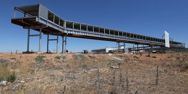 Welcome To The €1 billion Abandoned Ghost Airport—That Just Received Its First Flight After Nine Years