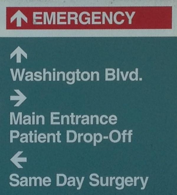 Gulp! Mom, Far Away, Is At The Emergency Room-What Now?