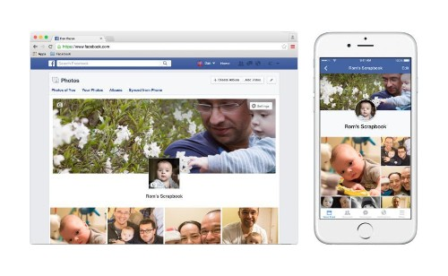 Facebook Launches A New Scrapbook Feature To Keep Photos Of Your Children Organized