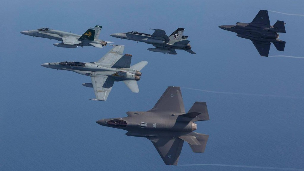 The Australian Air Force Can Send Just Two Fighters Into Battle With China