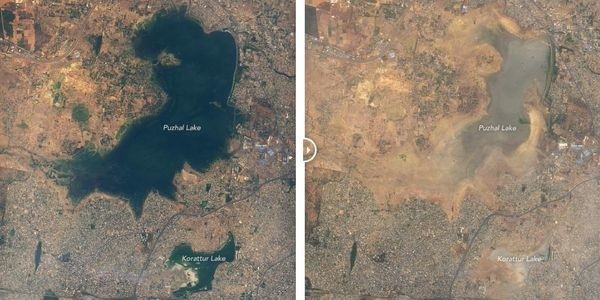 Why Chennai Is Running Out of Water In 2 Satellite Images And An Explanation
