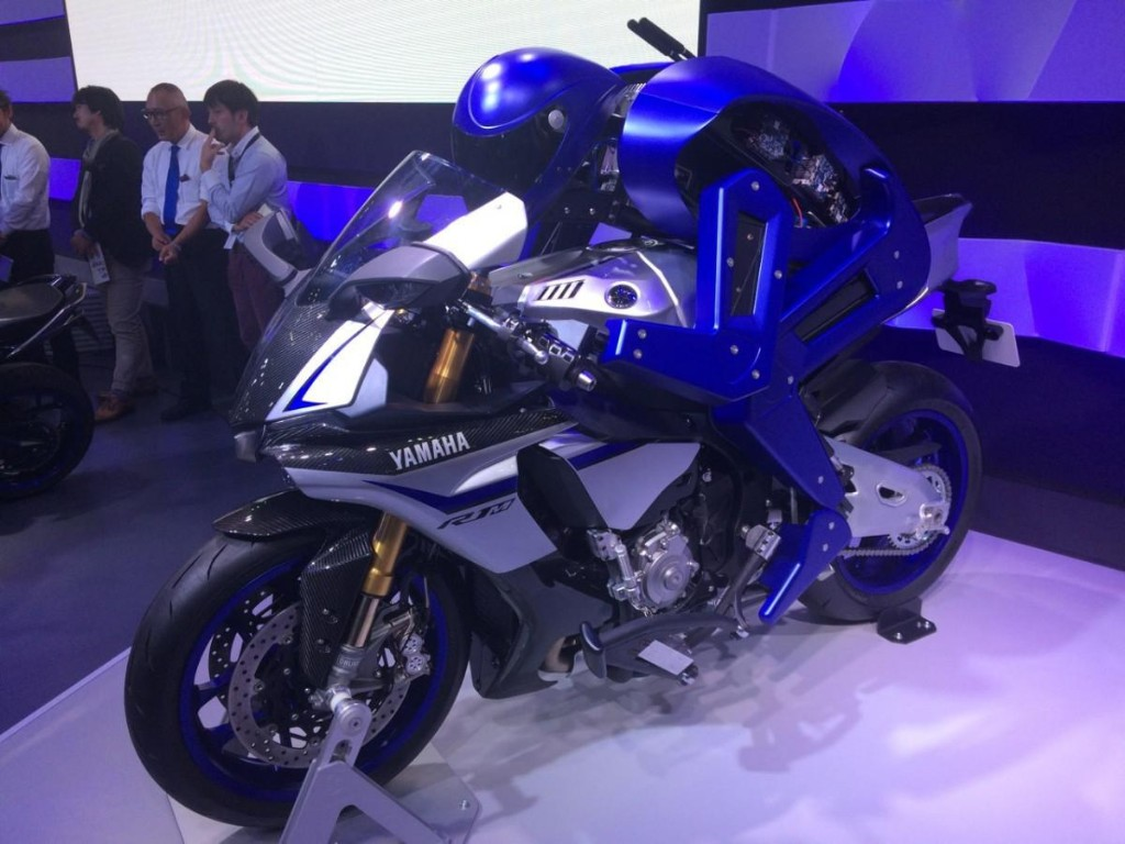 Meet The Yamaha Motobot: A Robot That'll Learn To Ride Motorcycles Better Than Humans Can