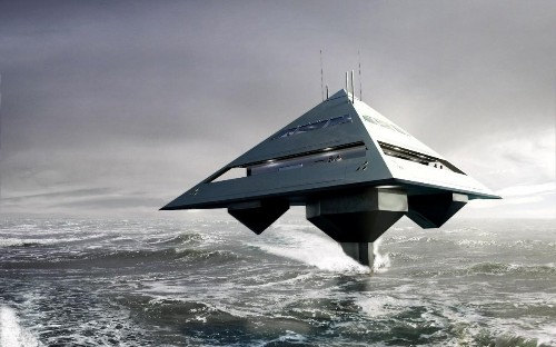 The Remarkable Flying Pyramid Superyacht: The Future of Airborne Cruising