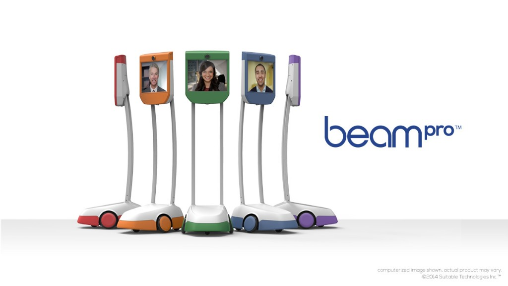 BeamPro Delivers Smart Presence For The Workplace