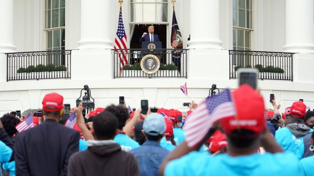 Trump Tells White House Crowd That Coronavirus Is 'Disappearing' Amid Sharp Increase In Cases