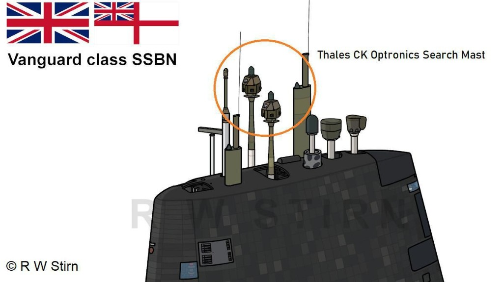Royal Navy Submarine In Near Miss With Ferry Identified As A Vanguard Class