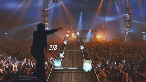 Hands On (And Rocking Out) With The New Guitar Hero