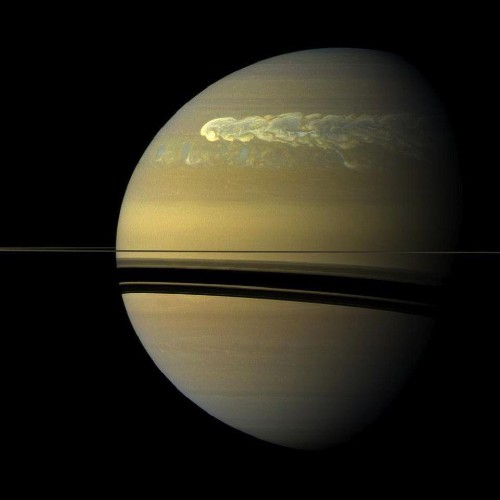 Saturn, Not Earth Or Jupiter, Has The Largest Storms In Our Solar System