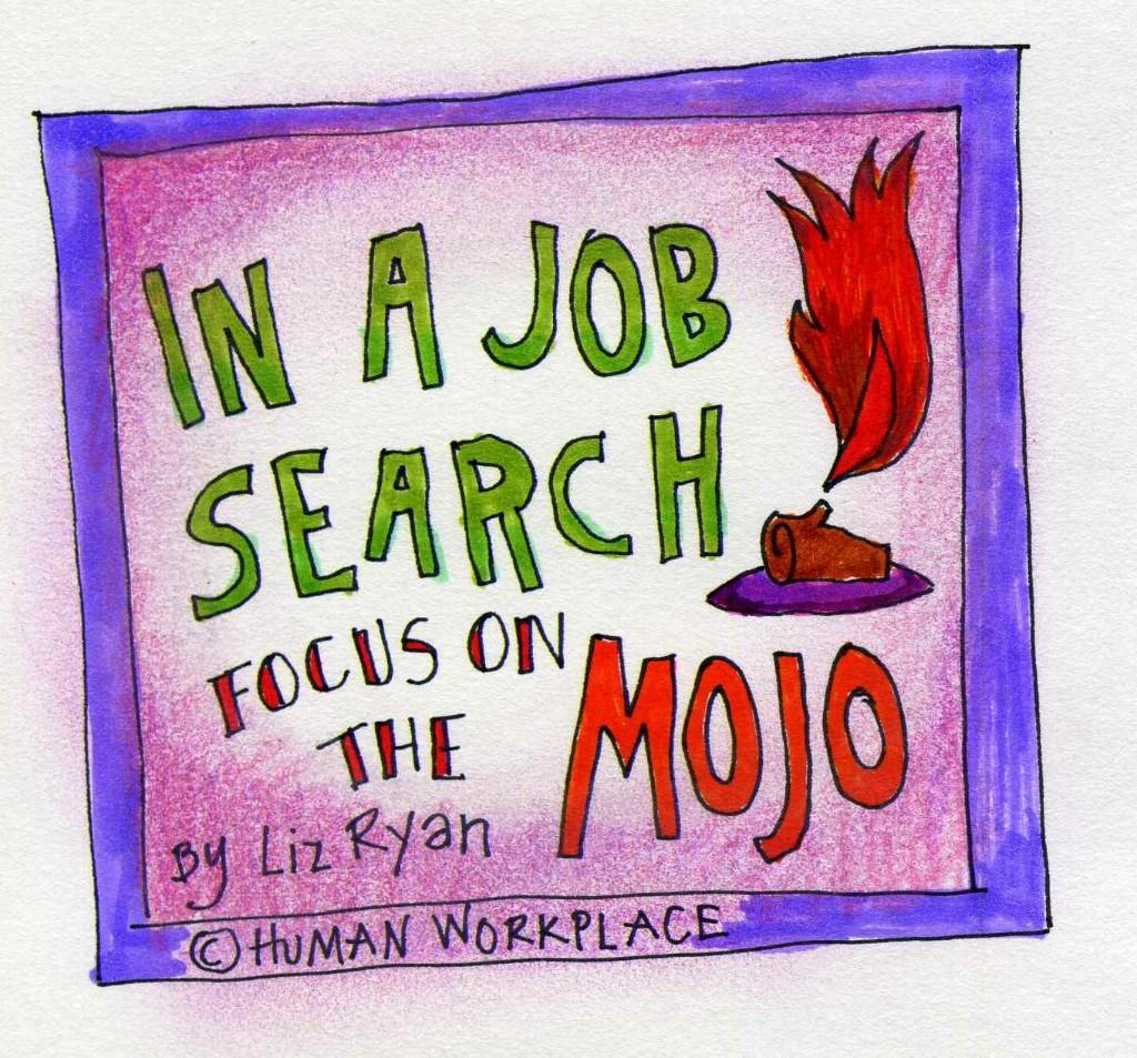 job interveiw  - Magazine cover