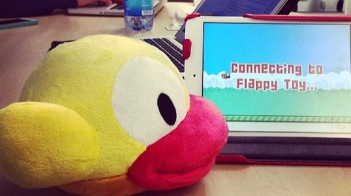 Can Flappy Bird Take Off In The Real World With A Physical Controller?