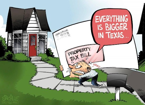 On Property Taxes And Local Government Spending, Texas Already Is California