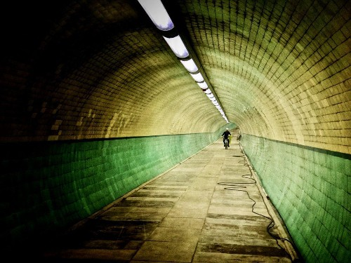 Historic And Wonderful Cyclist And Pedestrian Tunnel Under River Tyne Re-Opens Soon